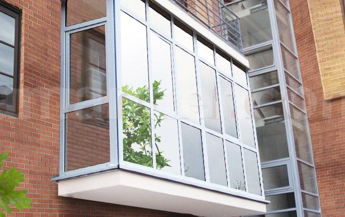 Тонировка балкона